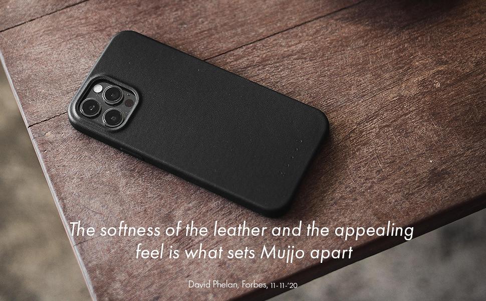 Mujjo Iphone 12 Mini Leder Hülle Schwarz Premium Wallet Case Fächer Für 2 3 Karten Extra Dünn Stoßfeste Schutzhülle Kabelloses Laden 5 4 Einzigartiger Natürlicher Alterungseffekt Elektronik