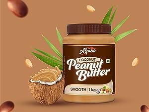 coconut peanut butter, alpino peanut butter, best peanut butter