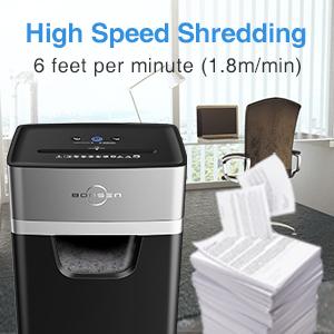 high effiency paper shredder