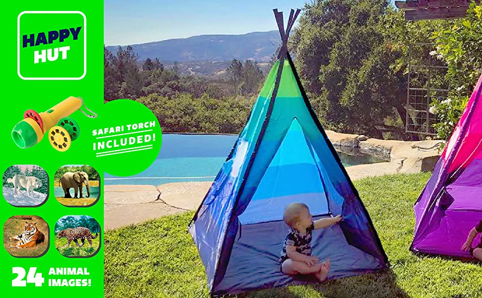 teepee tent kids play tents indoor tipi girls boys outdoor toddler childrens playhut boy indian