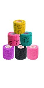 paw print vet wrap vetrap tape wound care for dog cat pet