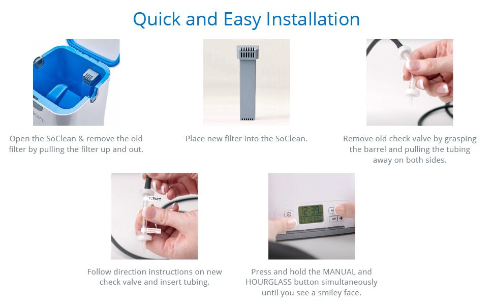 SoClean Replacement Cartridge Filter Kit