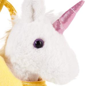 knopfaugen, glitzer horn, brubaker, regenbogen-einhorn, einhorn, rainbow unicorn, kuscheltier