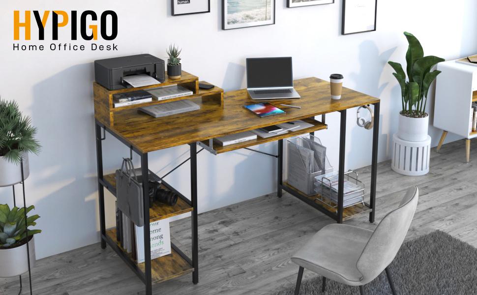 Home office computer desk