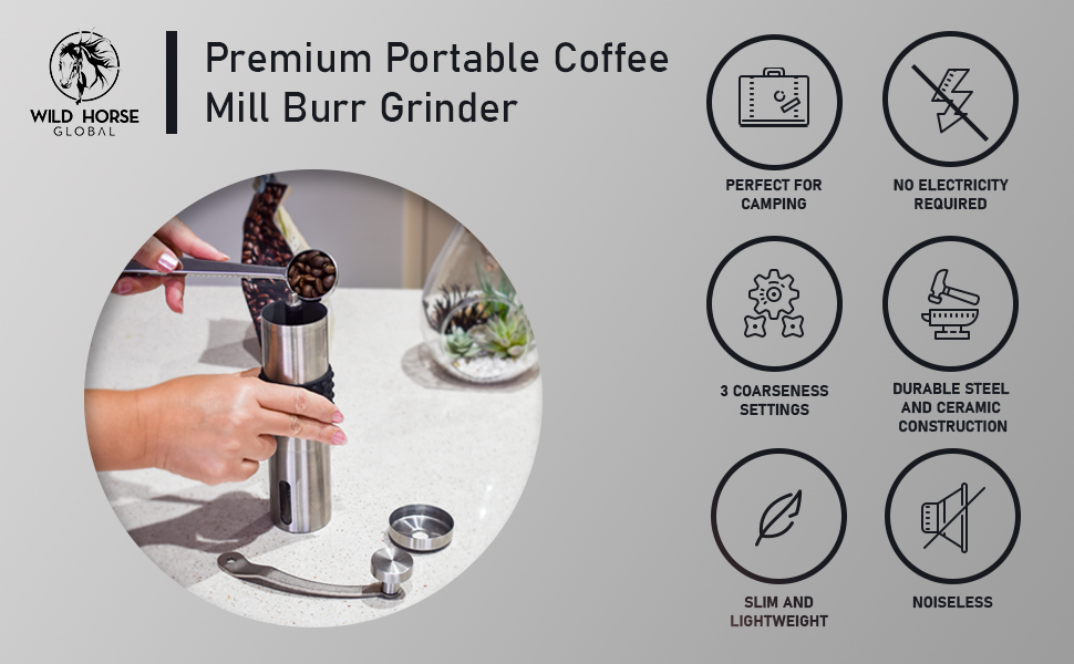 Wild Horse Global Manual Coffee Grinder