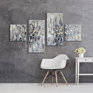 large modern painting