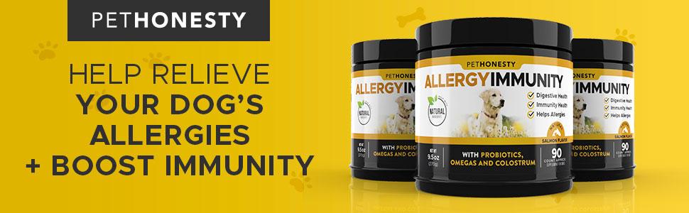 PetHonesty Allergy Immunity Chews