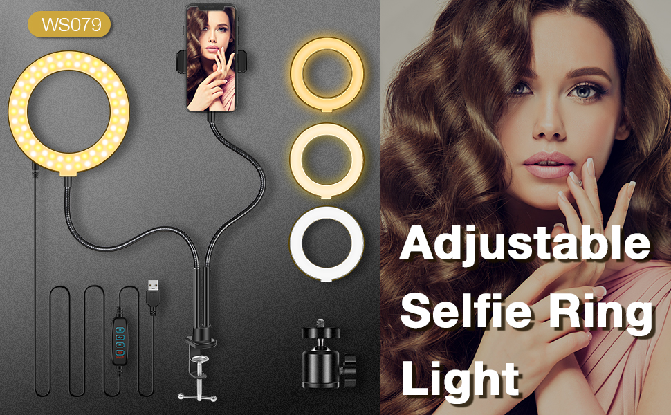selfie ring lights