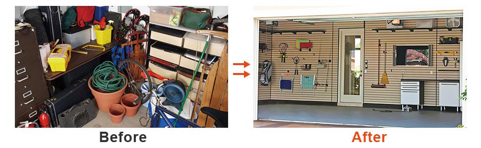 ETEPON Ganchos para Colgar 10 Piezas, Colgadores de Garaje, Colgador de Bici de pared NC20: Amazon.es: Bricolaje y herramientas