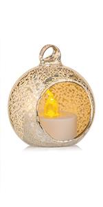 mercucy glass tea light holder