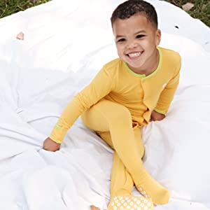baby sleeper snaps footed shedo lane upf 50+ sun protection clothing kids toddlers babies