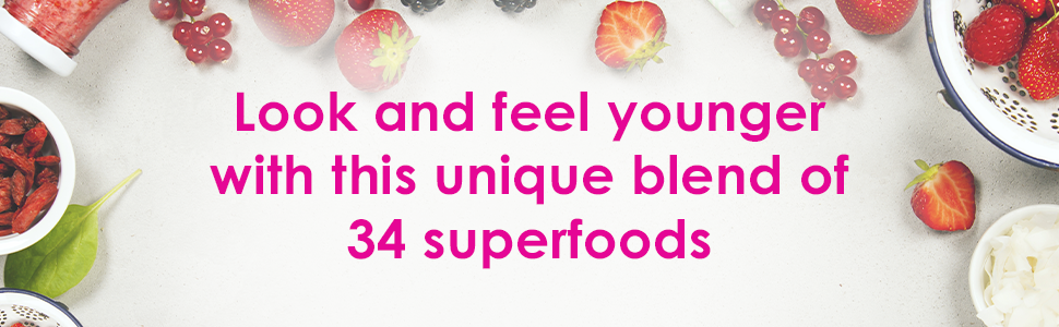 look and feel younger 34 superfoods