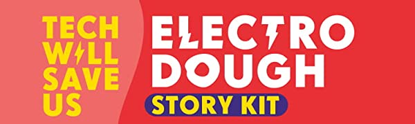 STEM, Electro Dough Story, Play Doh, Toy, Educational
