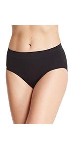 Gloria Vanderbilt Womens Underwear Panties Tagless Microfiber 3 Pack