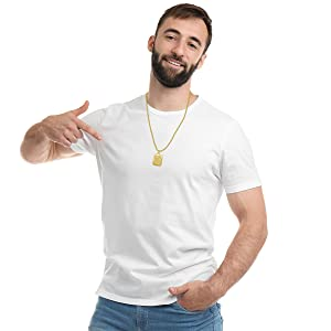Men Letter Necklace