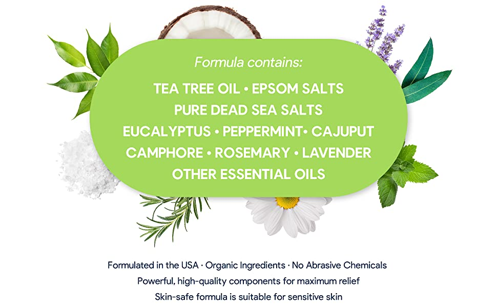 dead sea salts peppermint athletes
