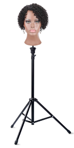 Wig Stand Tripod With Head