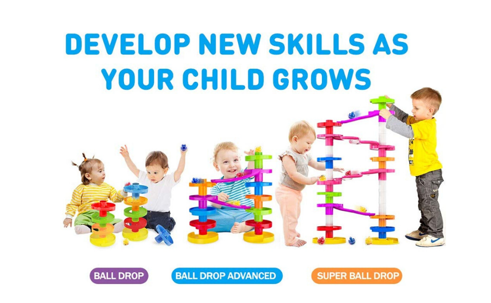 Develop New Skills with Ball Drop