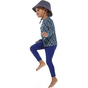 Toddler Girl Monterey Summer Leggings Coolibar UPF 50 Sun Protective