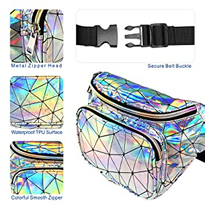 holographic waist pack