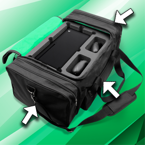 casematix carry traveling hard cable add ons