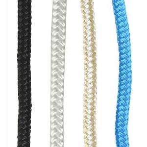 "NovelBee 2 Pack of 3//4/""x 25/' Double Braid Nylon Dockline,Mooring Rope Dock Line with Spliced Soft Eye"