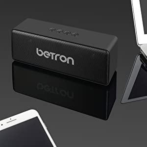 betron d51 portable wireless bluetooth speaker