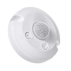 360/°, alcance de hasta 6 m, LED IP20, 240 V Maclean MCE231 Detector de movimiento PIR