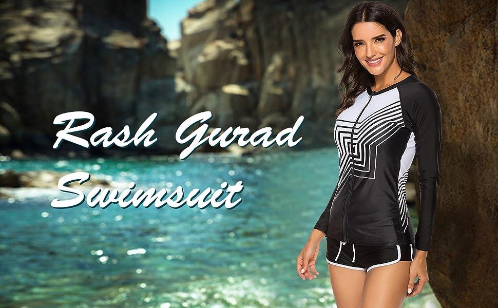 Rash Guard Swimsuit