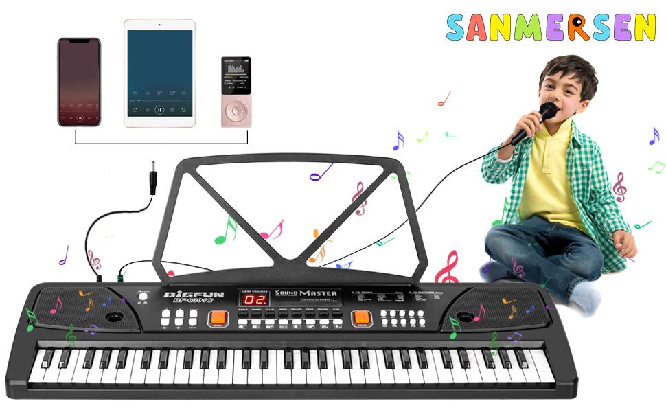 kids piano keyboard