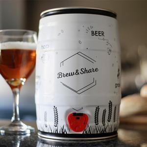 kit para hacer cerveza artesana en barril