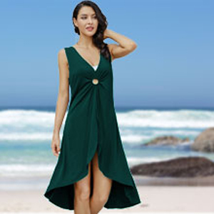 AS ROSE RICH beach cover up