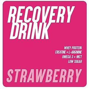 226ERS Recovery Drink | Recuperador Muscular con Proteína Whey, Creatina, Hidratos de Carbono, Triglicéridos y L-Arginina, Sin Gluten, Yogurt Limón - ...