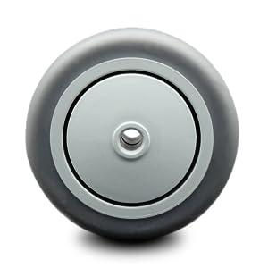 Service Caster, thermoplastic rubber wheel