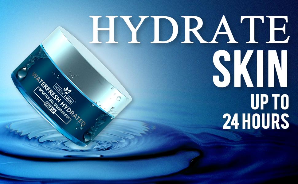 hydro gel skin moisturizer