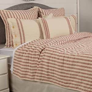 Market Place Red Bedding