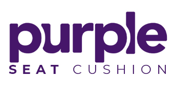 purple seat cushion double purple pillow back cushion motorcycle seat cushion car wedge seat cushion