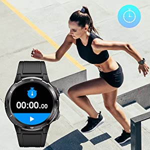 smart watch by timers