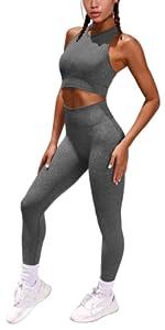 seamless top leggings set