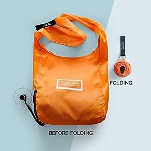 Foldable Portable Supermarket Shopping Bag