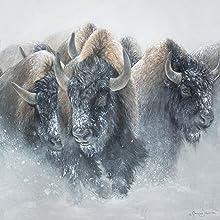 L'image Web du troupeau Thundering
