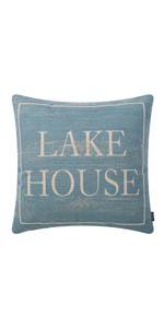 Trendin Lake House Pillow Cover