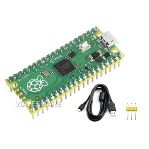 Pre-Soldered Development Kits  1*3PIN yellow pin header x1 USB-A to micro-B cable x1