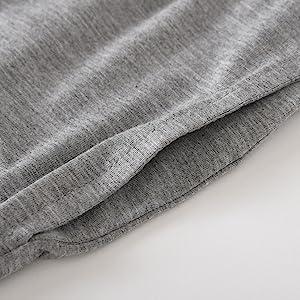 latuza women pajamas set full length pants sleep bottoms pockets