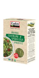 Edamame Spirulina Spaghetti