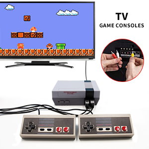 Classic Mini Retro Game Console