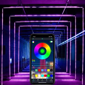 led strip lights app controlled