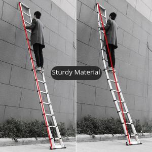 telescopic ladder aluminim telescopic ladder industrial ladder home and office ladder ladders