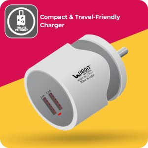 UBON CH-11 2.4A Wall Charger with Micro-USB Cable SPN- FOR 1