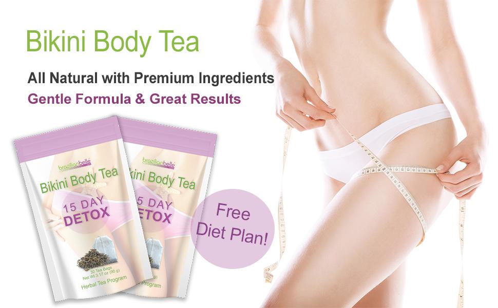 bikini body tea detox boost metabolism lose weight